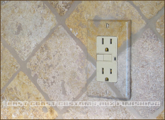 phoenix decorative painting outlet cover - Decorative Outlet Covers